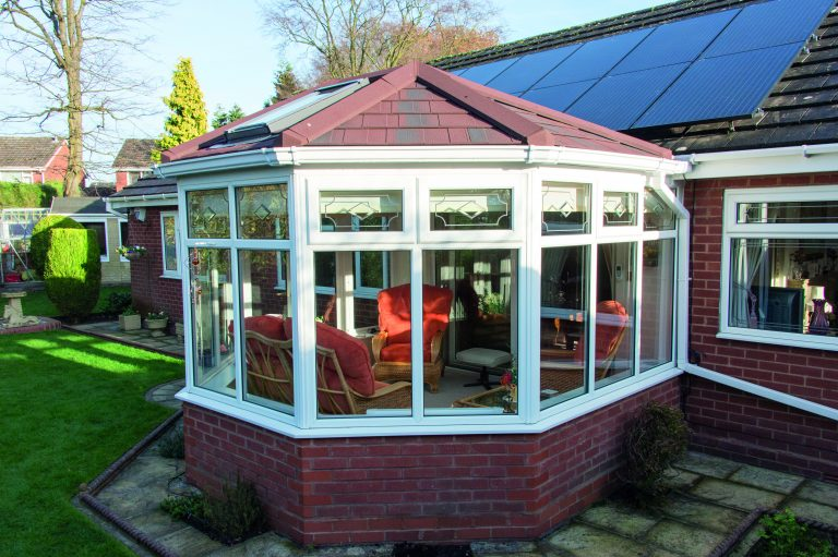 conservatory roof replacement - tiled conservatory roof - conservatory warm roof - in - macclesfield - stockport - Manchester - cheshire