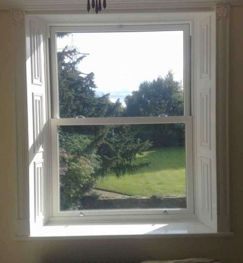uPVC Box Sash Windows Macclesfield