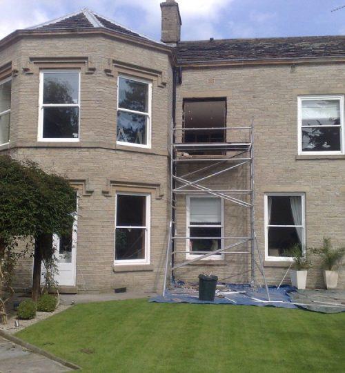 upvc sash windows working progress